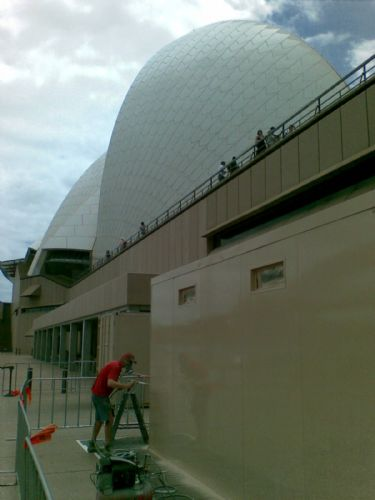 ArmourShield Onsite Coating Solutions - Opera Hpuse