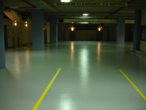 ArmourShield Onsite Coating Solutions - Car Park Floors