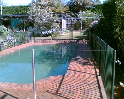 ArmourShield Onsite Coating Solutions - Pool Fences