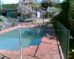ELECTROSTATIC SPRAY PAINTING, Pool Fences, Another pool fence that was coated by Armourshield, 131