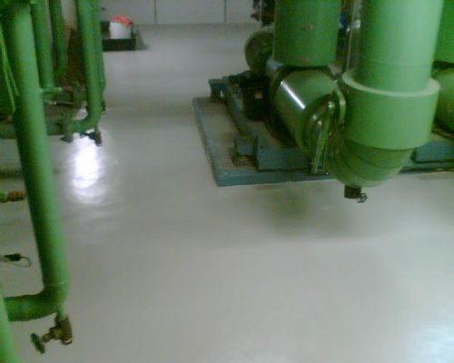 ArmourShield Onsite Coating Solutions - Plant Rooms