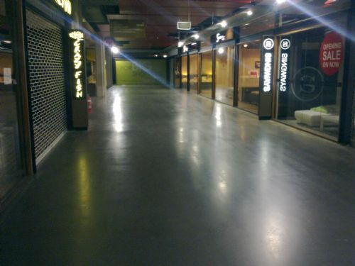 ArmourShield Onsite Coating Solutions - Exposed aggregate Floors