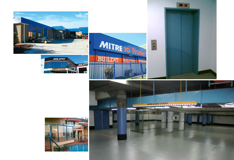 ArmourShield - coating and recoating of colorbond, roller doors, floors, window frames, anti graffiti coatings, electrostatic spray painting, polished concrete flooring and domestic, commercial, industrial protective coatings.